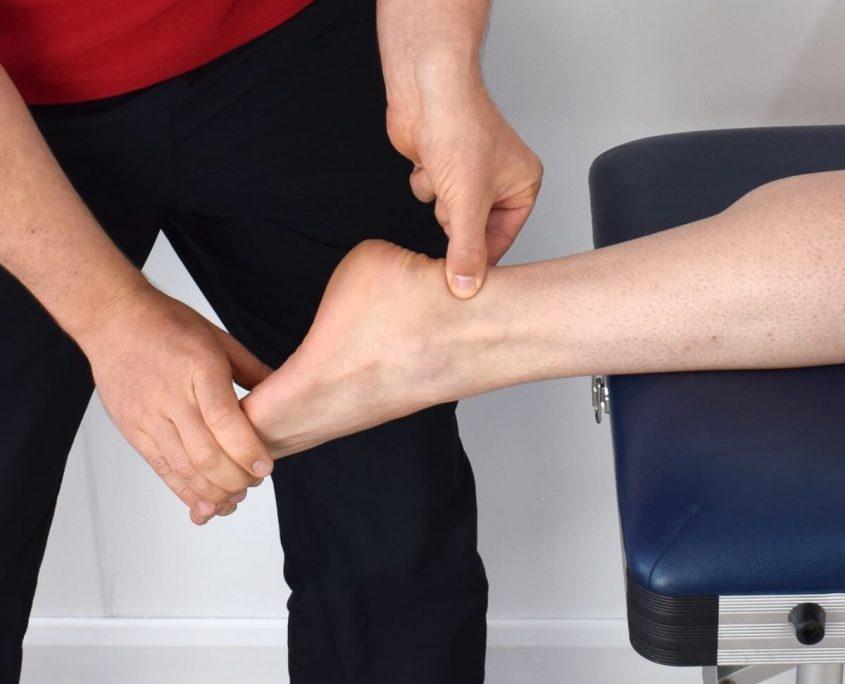 diagnóstico de rotura en el tendón de Aquiles