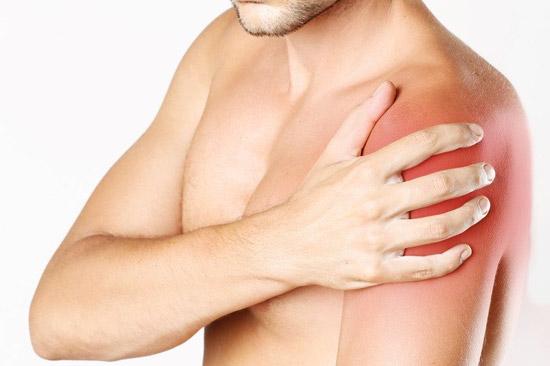 fuerte dolor de hombro