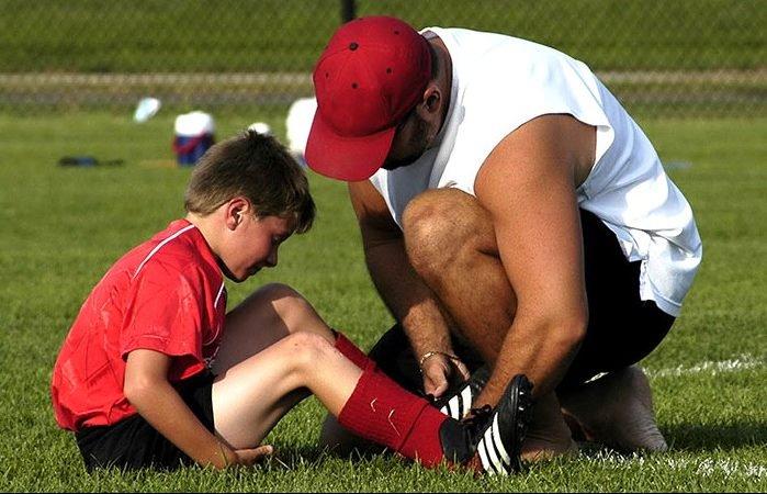 las lesiones en jovenes deportistas