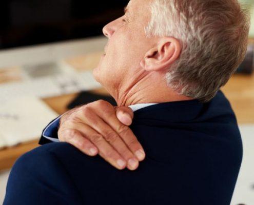 molestias en el hombro